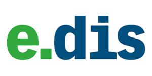 e.dis-Logo | Projektpartner für MAZ