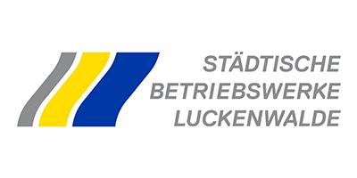Städtische-Betriebswerke-Luckenwalde-Logo | Projektpartner für MAZ