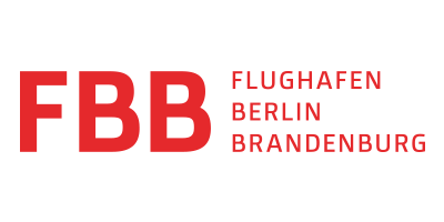 Flughafen Berlin Brandenburg-Logo | Projektpartner für MAZ