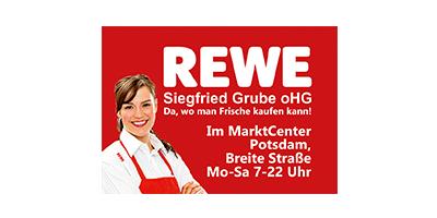 REWE-Logo | Projektpartner für MAZ