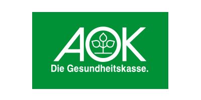 AOK-Logo | Projektpartner für GT-ET